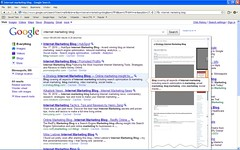 Google Instant Previews for Internet Marketing...