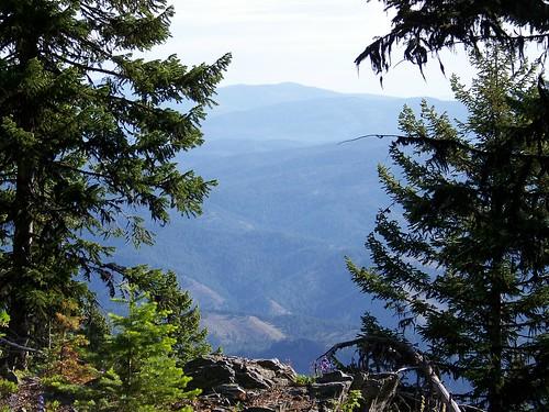 Scene from Sacajawea Peak area