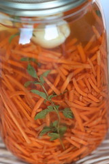 Pickled Shredded Carrots