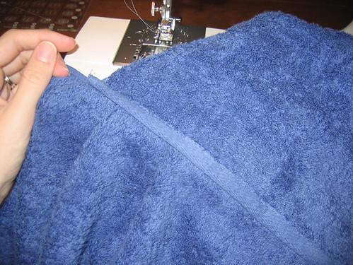 Hooded Towel Tut: Step11-