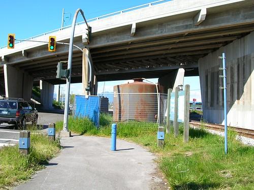 Highway 99 overpass