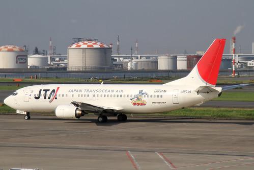 JTA B737-400(JA8526)