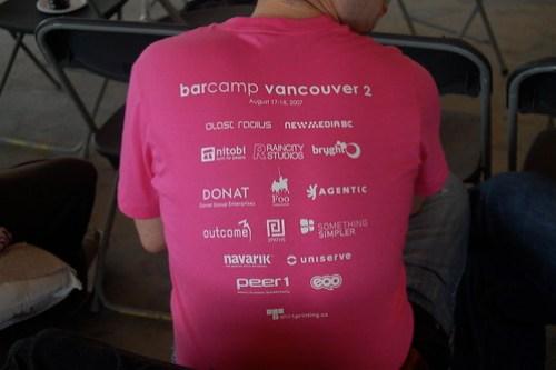 BarCamp Sponsor Love