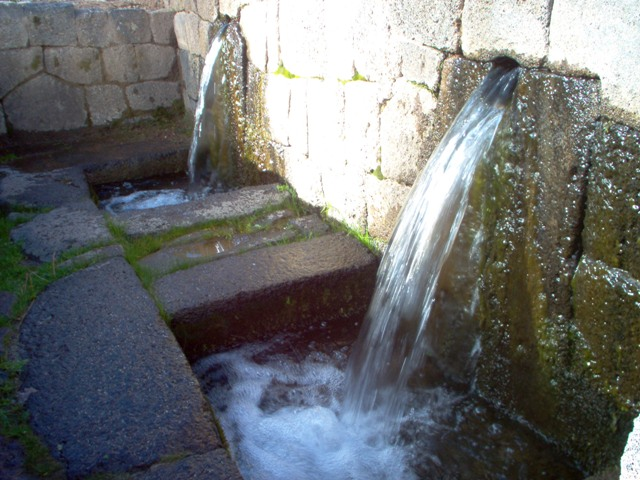 Waterfountains of Sicuani.
