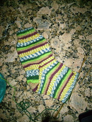 Sock progress 7-15-07