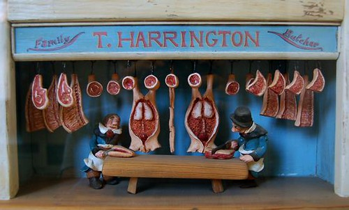 Dollhouse-Town Butcher Shop