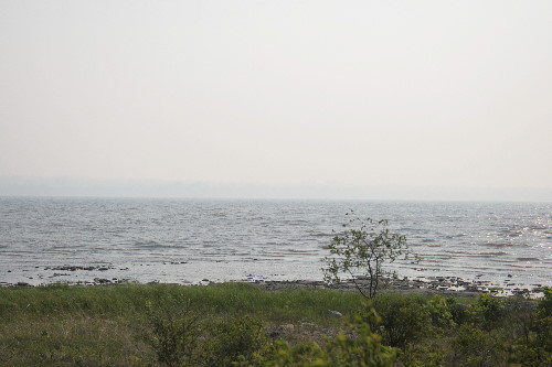 Smoke from Quebec forest fires