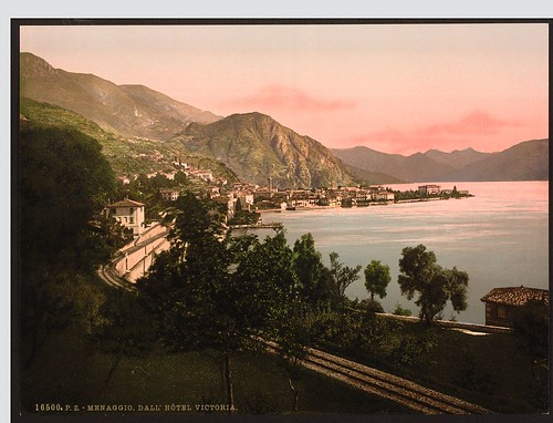[Menaggio, general view, Lake Como, Italy] (LOC)