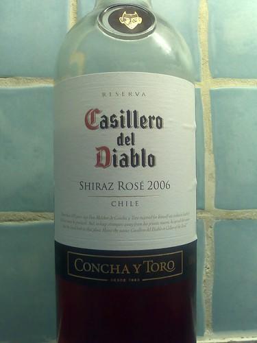 Casillero del Diablo Shiraz Rosé 2006