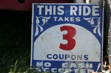 three coupons