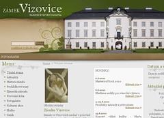 Vizovice - nový web
