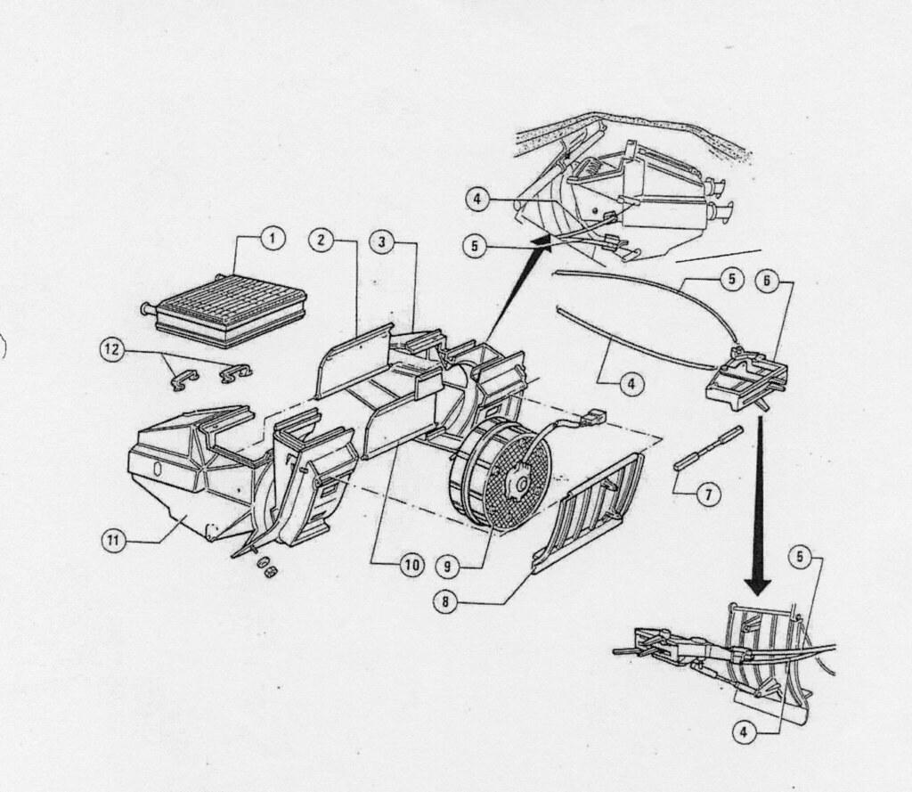 Sistema calefaccion ford mondeo