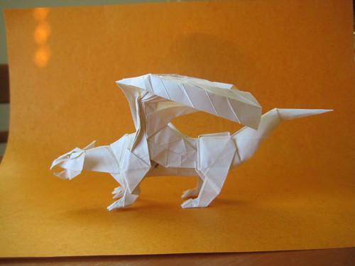 Origami Dragon 06