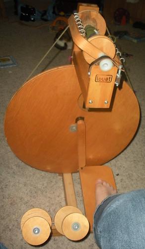 my first spinning wheel