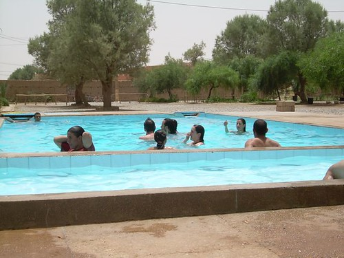 La piscina de Chez Michelle