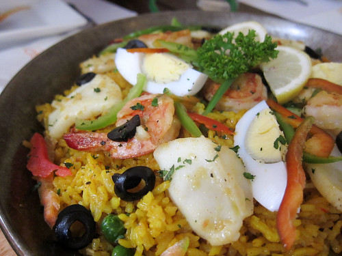 Seafood Paella at O'sonho