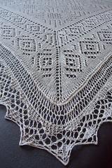 SD shawl - corner