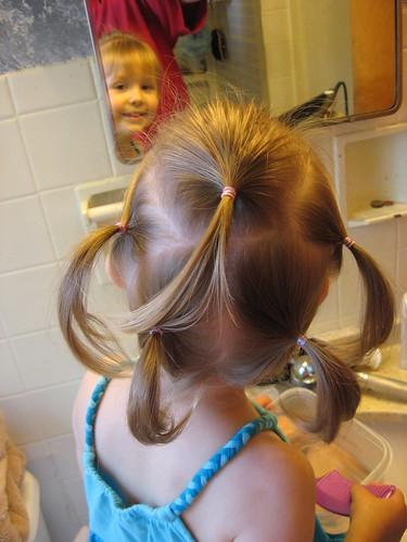FIVE hair pretties, Mama