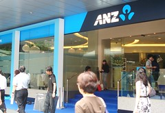 ANZ Bank's new branch at Chevron House