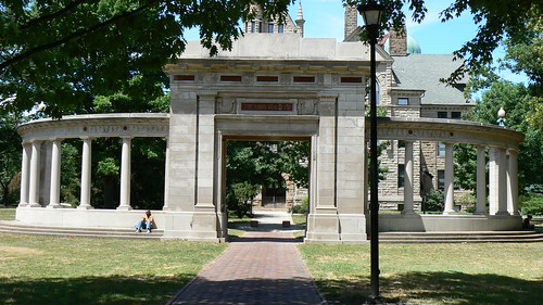 Memorial Arch in Tappan Square, Oberlin