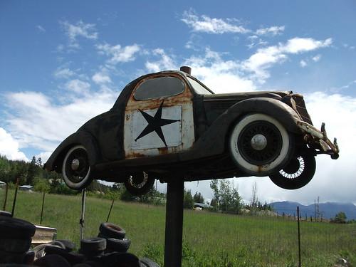 White Post Auto Museum sign