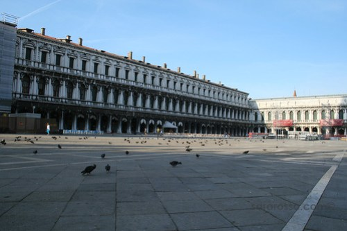 St. Mark's Square in Early Morning