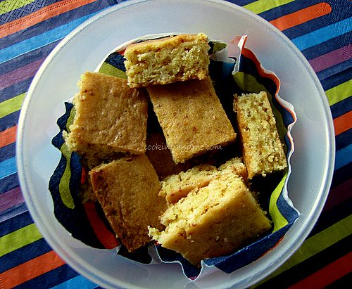 Butterscotch Blondies Recipe - Step By Step Recipe