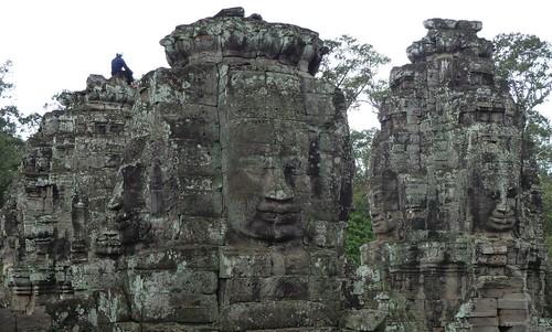 Caras de Angkor Thom