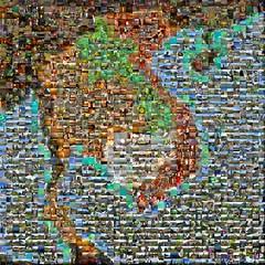 Southeast Asia Mosaic