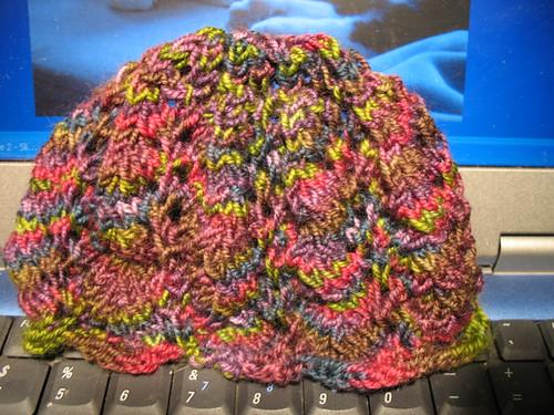 Vine Lace Baby Hat