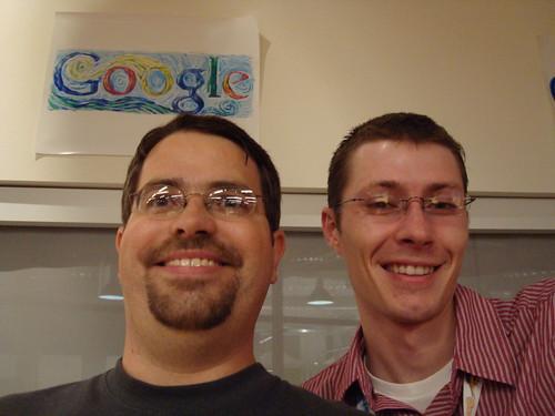 Thomas & Matt!  Totally BFF Now.