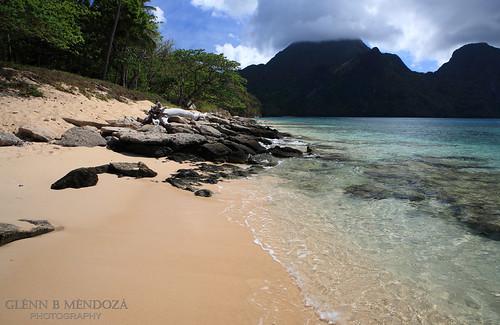Helicopter Island Rocks