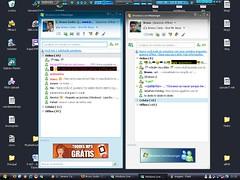 2 MSN abertos ao mesmo tempo