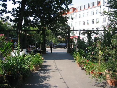 in front of clärchen's ballhaus