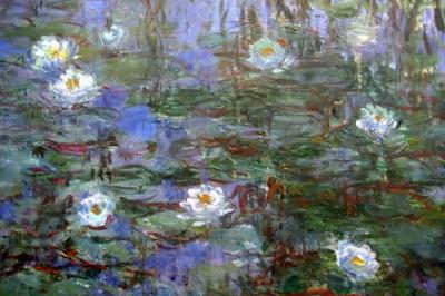 Paris - Musée d'Orsay: Claude Monet's Nymphéas bleus