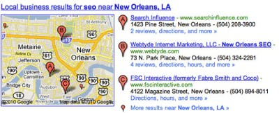 2010 Local Search Factors Released