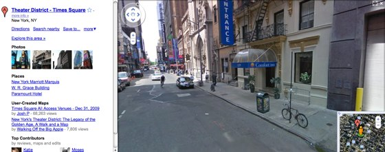 Google Streetview NYC Screenshot