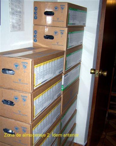 Zona de almacenaje 2