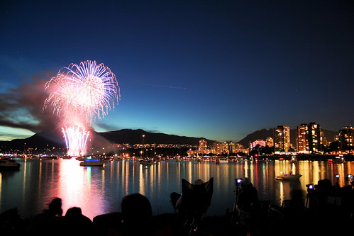 celebration of light 2007 - vancouver, canada, fireworks