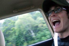 An enthusiastic Chris