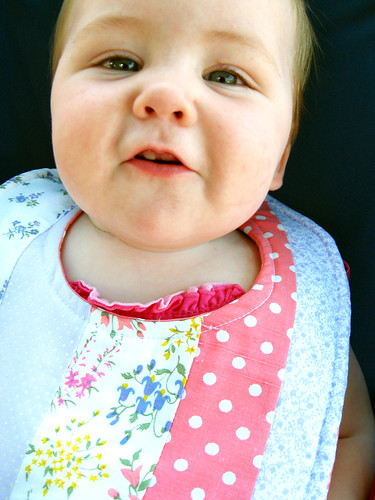 Luxie, another sweet bib model.