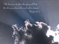 The heavens declare the glory of God by 1blessedmom (Free Time Until Oct.8)