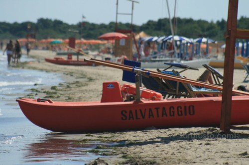Rescue Boat in Puglia
