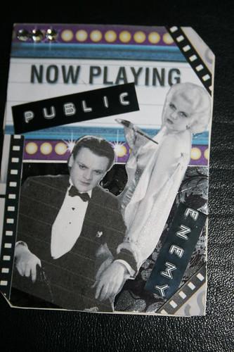 Vintage Film Noir ATC-for Swap-bot.com