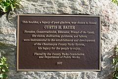 Curtis Bauer Plaque