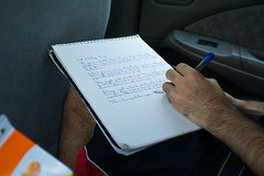 Screenwriting in the Car