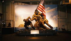 Iwo Jima Memorial Statue, USS Intrepid, New Yo...