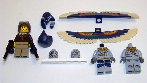 Pharaoh's Quest - 7307 - Minifigs