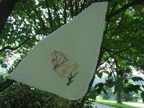 Bonnet Birdie Blanket