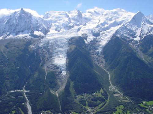 Aiguille du Midi, Mont Blanc and Chamonix